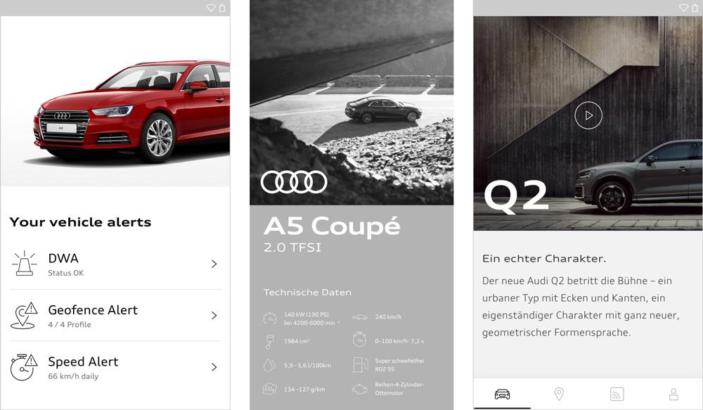 Audi奥迪VI设计_海报设计