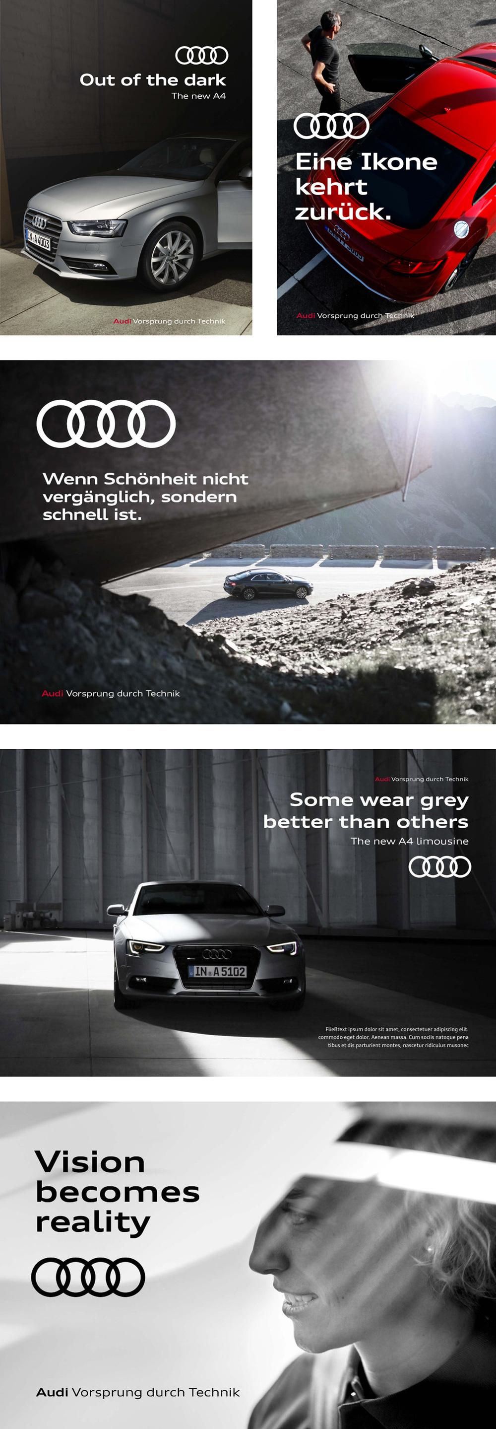 Audi奥迪VI设计_海报
