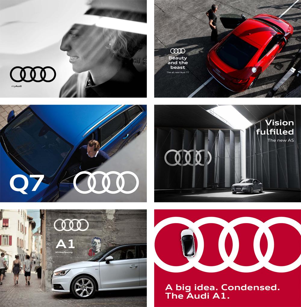 Audi奥迪VI设计_主海报